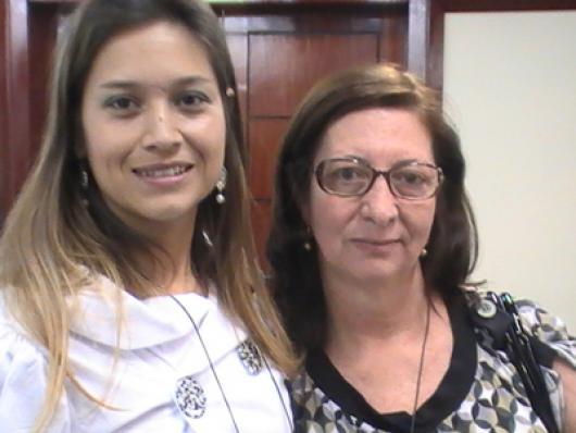Rosangela Marines e Maria do Carmo Teixeira - Amitys Cosméticos