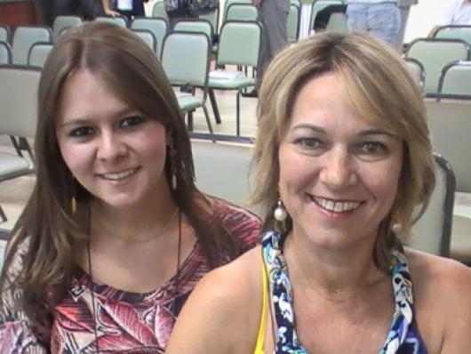 Carolina Manfrin (Maza Cosméticos) e Tania Tamanini (Tutti Fiori)