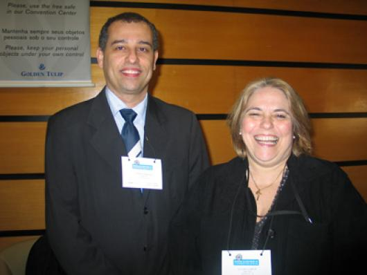 Marco Antonio Ferreira e  Fátima Gaspar (DirectBiz)