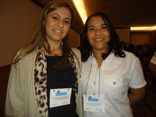 Renata Lopes e Aparecida Melo (Rayervas)