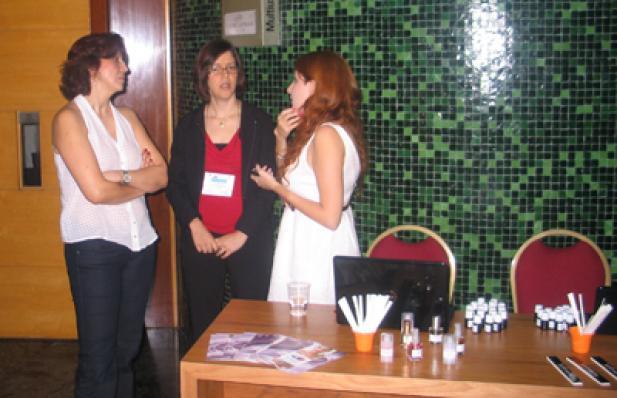 Mercia A. Bastos (Avante), Juliana Melo e Patricia Maida (VM7)