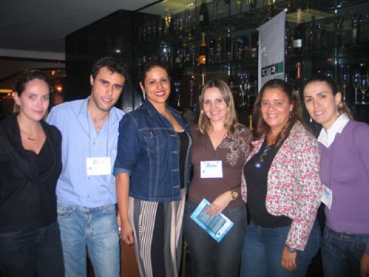 Sarah Robotham, Elton Lennon, Juliana Caires, Daniella Pereira, Ducimary Mendes e Fabiana Fonseca (Maxibrasil)