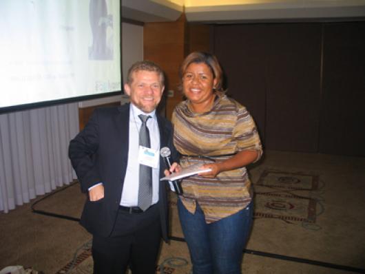 Ganhadora Nubia Janete Ramos (Tratage)
