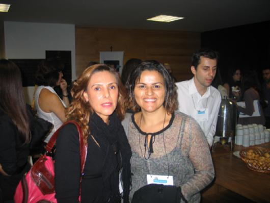 Lucia De Angelis (Newton Paiva) e Daniela Maia (Centro Técnico Elza Rocha Rodrigues)
