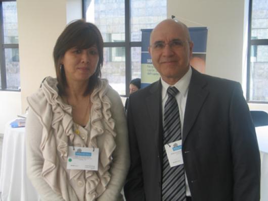 Lidia H Aikawa(Balbpharm) e José Paulo Santos (Jovii Cosmecêutica)