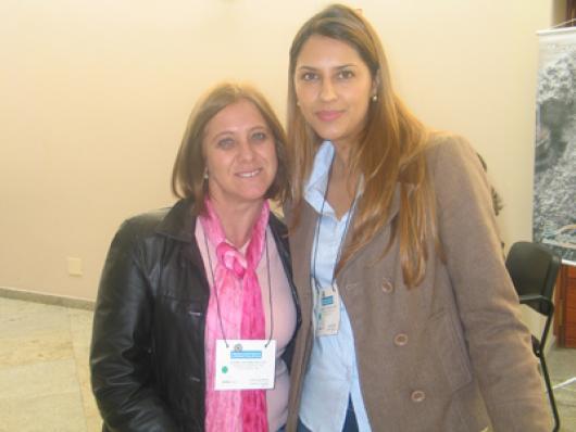 Ester Colombo e Francine Carneiro (Palmindaya)