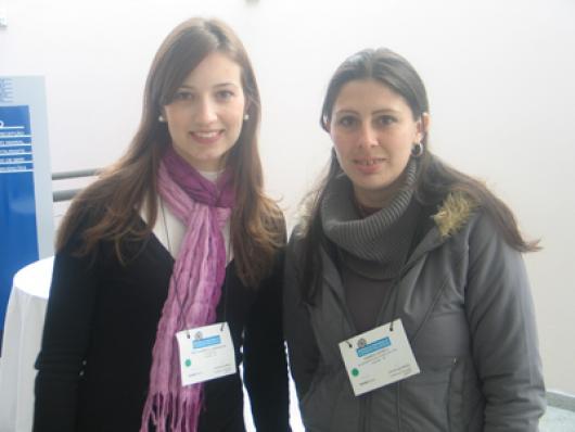Iria Gabriella Ribeiro(Consultora) e Andreia Sforça (Balpharm)