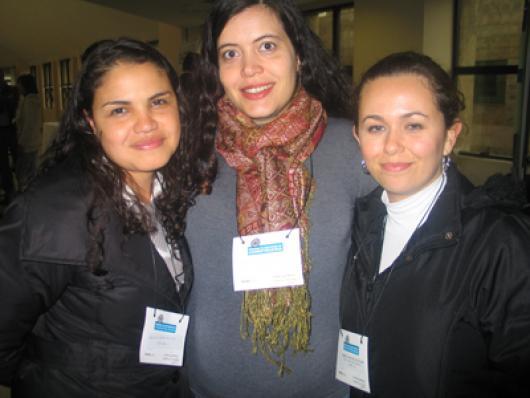 Vanessa Correa da Silva, Valéria Maria Di Mambro e Karinna Siqueira Machado (O Boticário)
