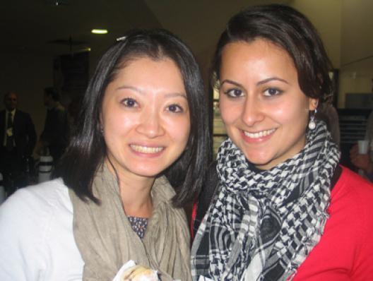 Caroline Sayuri Hamasaki (O Boticário) e Mariana Ribeiro de Lima (Firenze)