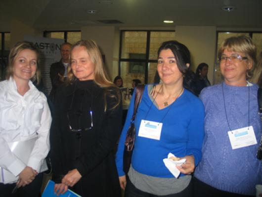 Manoela Dall Acqua (Dall Acqua), Sonia Isabel Friedlaender (Tricofort), Marcia Veiga (Affinita) e Margareth P da Silva (Firenze)