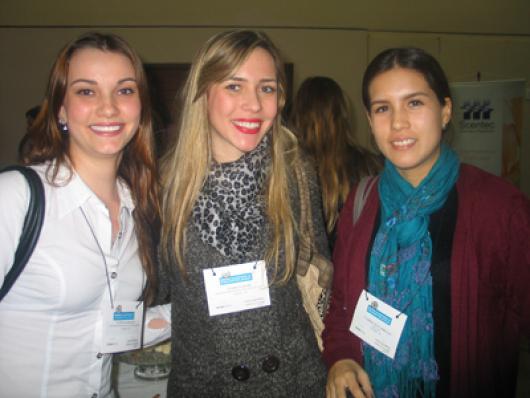 Patricia Pasqualim, Patricia Niero (RED APPLE) e Colarissa Silva (Vidal Life)