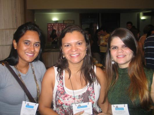 Nathalie P. Carneiro (SN2 Consultoria), Simone R. de Oliveira (Bell Corpus) e Ana Paulo M Santos (Facinatus)