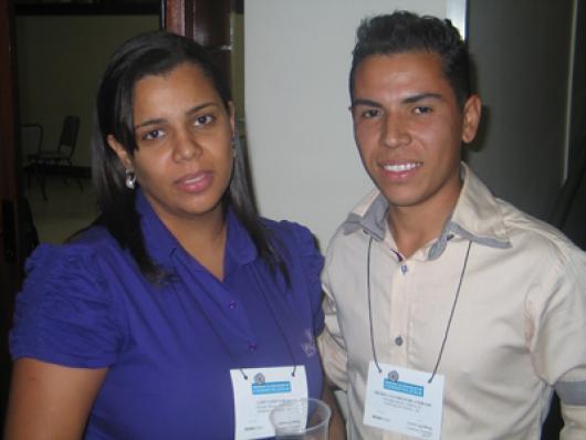 Lady Lanie de Farias e Michel G. de Andrade (Vangard  Cosméticos)