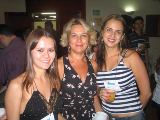 Caroline G. Manfrin (Maza Cosméticos), Tania Tamanini (Tutti Fiori) e Lorena Lisita (Natu Flores)