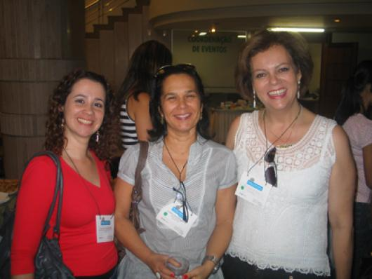 Ana Cecilia R. Gregoris (Ki-Joia ), Patricia Helena Rebello (Guirre Cosmeticos) e Ana Lucia Cury (Consultora)