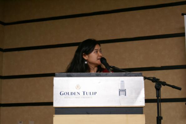 Julia Yamamoto, da Clariant, falou de Tensoativos de Origem Vegetal (Hostapon CCG)