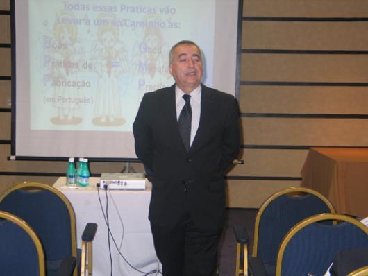 Sebastião Donizetti, da ProServ - Ferramentas de Controle Microbiológico BPF Integrado