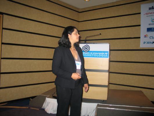 Vera Lucia Menezes Tonon, da Lubrizol - Conceito de Formulação SensiMap