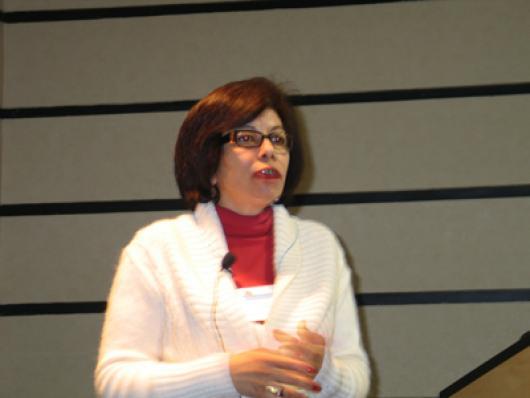 Fatima P. Pinto, da EcoUniverso abriu o evento com