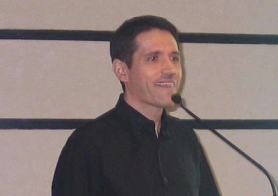 Representando a Midelt Química, Maurício Gaspari Pupo, apresentou a palestra