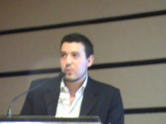 Fechando a programação, Danilo de Paula, da Factor de Solução, apresentou a palestra