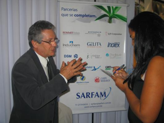 Edison Soares, representante da Sarfam